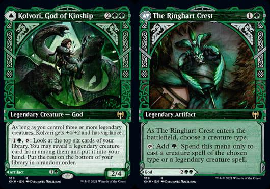 Kolvori, God of Kinship // The Ringhart Crest