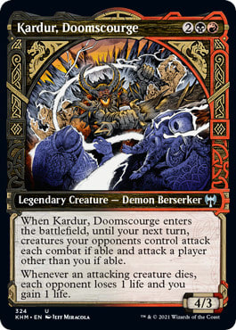 Kardur, Doomscourge