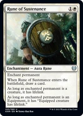 Rune of Sustenance