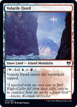 Volatile Fjord