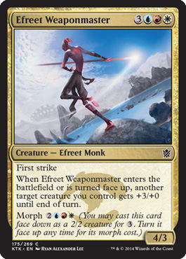 Efreet Weaponmaster