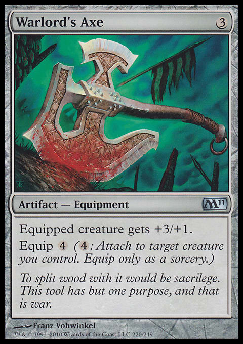 Magic 2011 - Green, Artifacts & Lands Review   Article by