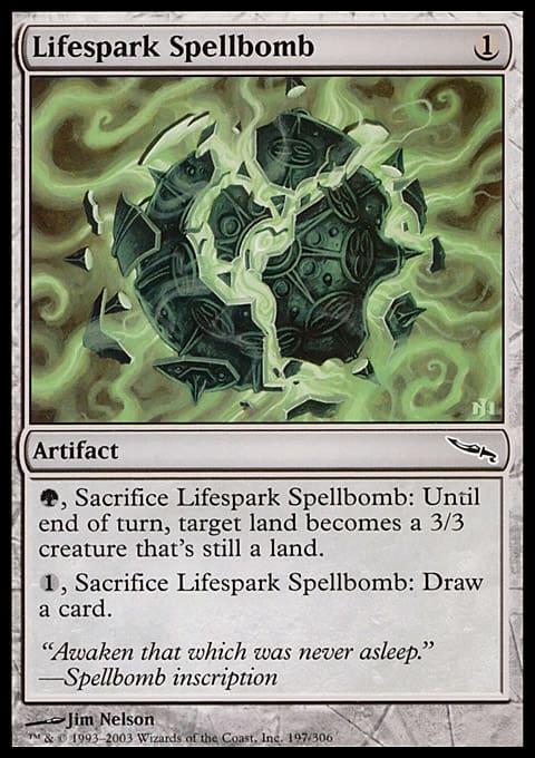 Lifespark Spellbomb