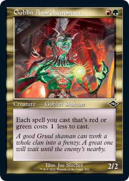Goblin Anarchomancer