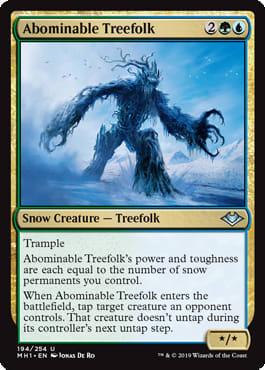 Abominable Treefolk