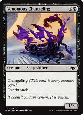 Venomous Changeling