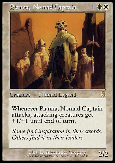 Pianna, Nomad Captain