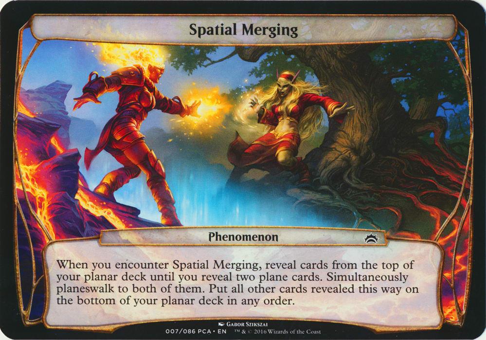 Spatial Merging