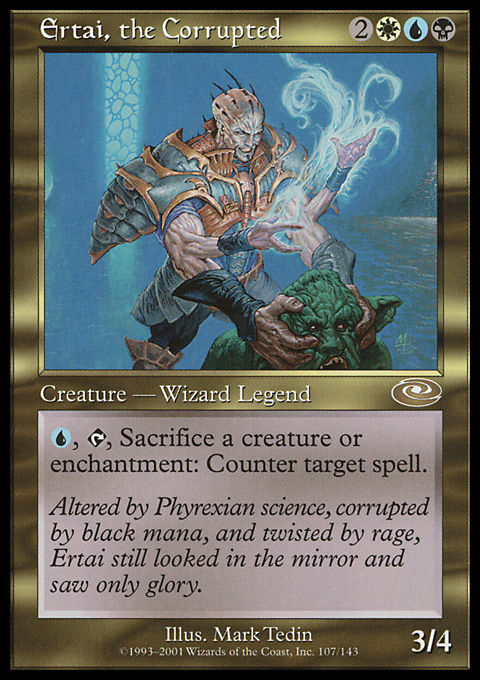 Budget Commander #32: Ertai, the Corrupted | Article by Abe