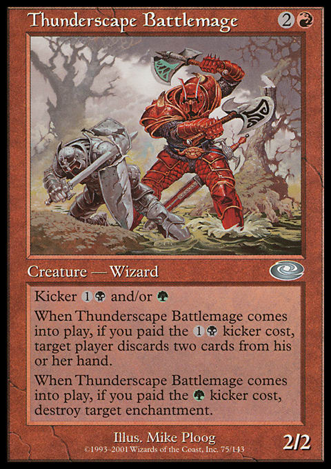 Thunderscape Battlemage