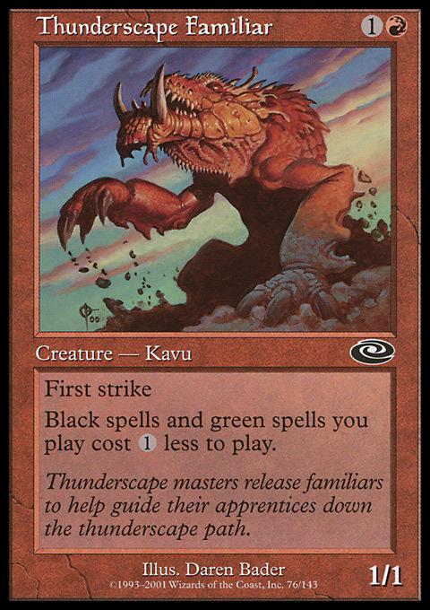 Thunderscape Familiar