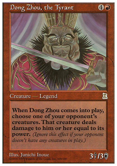 Dong Zhou, the Tyrant