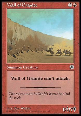 Wall of Granite