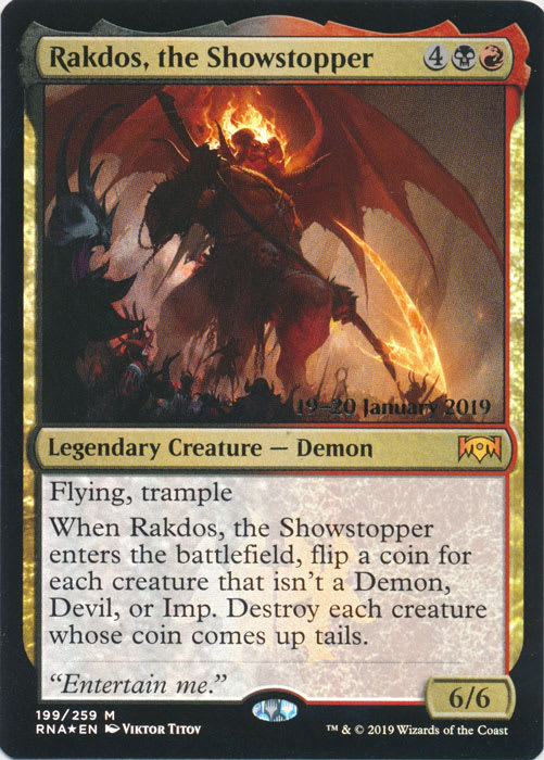 Rakdos, the Showstopper