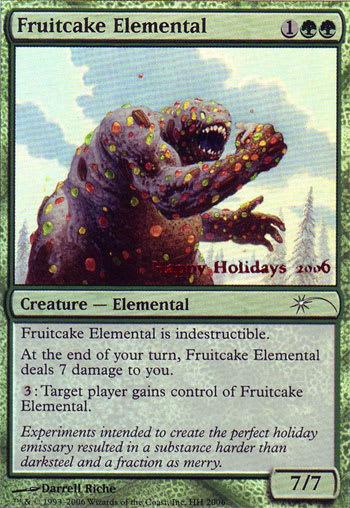 Fruitcake Elemental