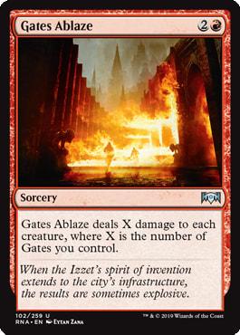 Gates Ablaze