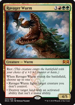 Ravager Wurm