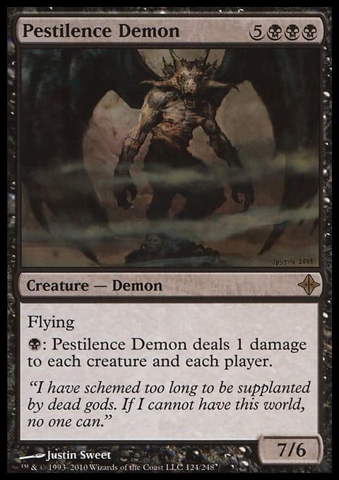 Pestilence Demon