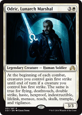 Odric, Lunarch Marshal