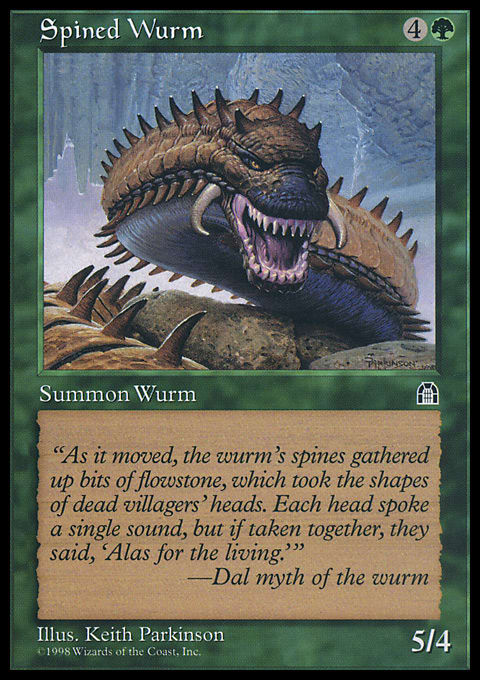 Spined Wurm