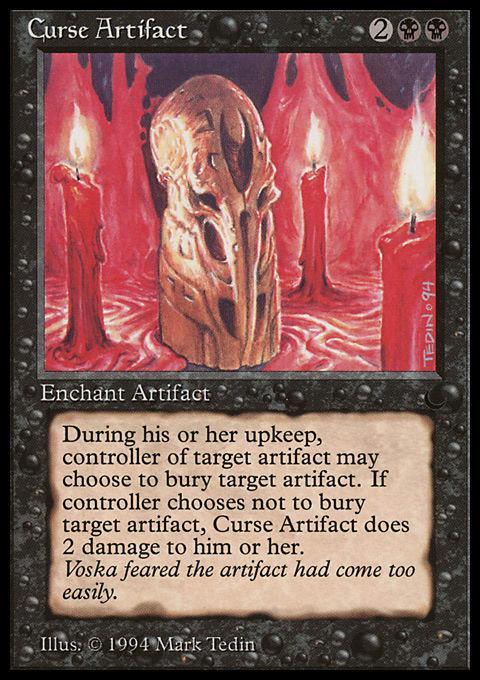 Curse Artifact