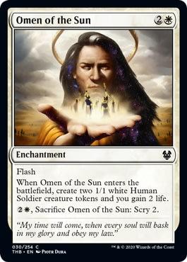 Omen of the Sun