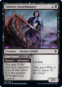 Smitten Swordmaster