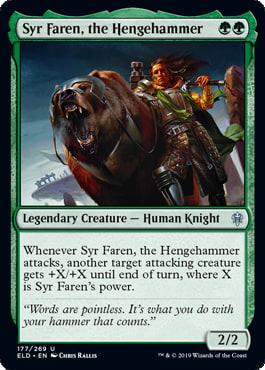 Syr Faren, the Hengehammer