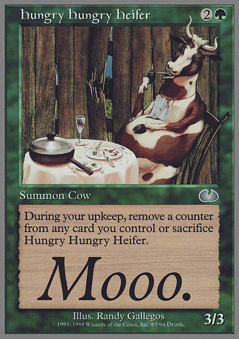 Hungry Hungry Heifer