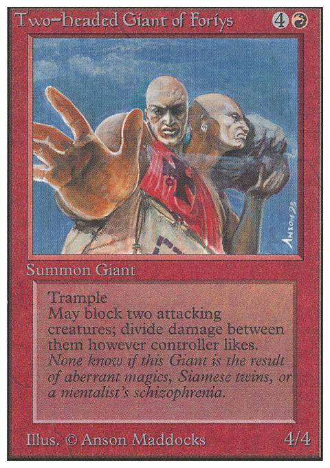 Two-Headed Giant of Foriys