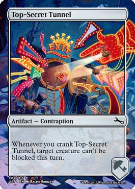 Top-Secret Tunnel