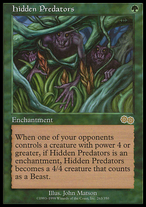 Hidden Predators