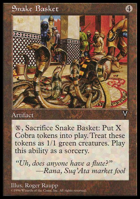 Snake Basket