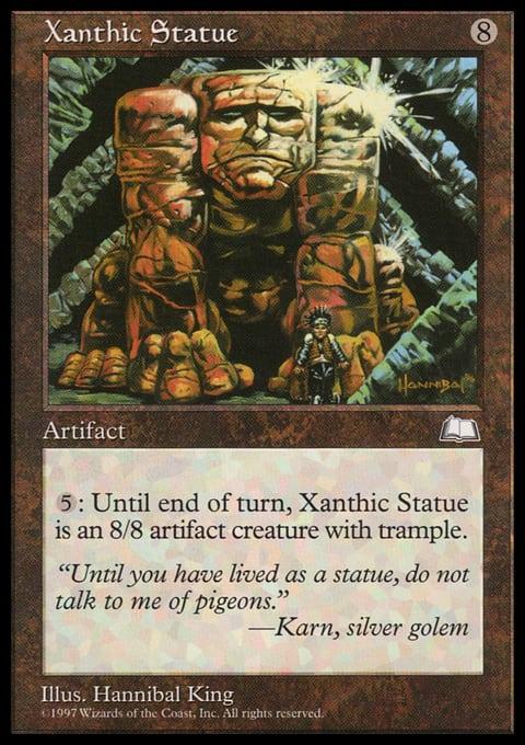 Xanthic Statue