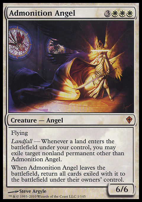 Admonition Angel