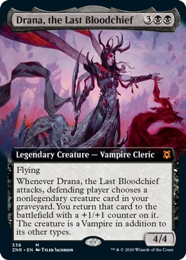 Drana, the Last Bloodchief