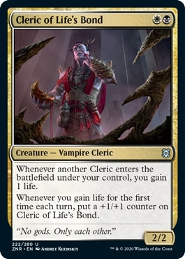 Cleric of Life's Bond