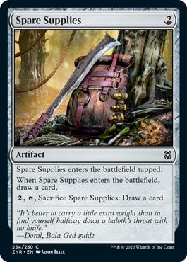 Spare Supplies