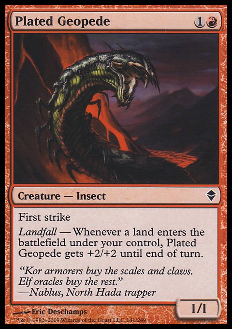 Plated Geopede