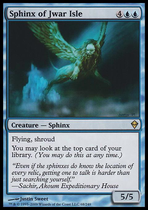 Sphinx of Jwar Isle