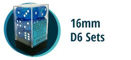 16mm D6 Sets