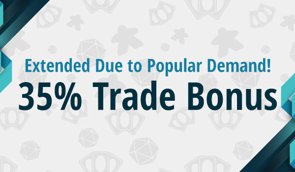 35% Store Credit Bonus on Trade-ins