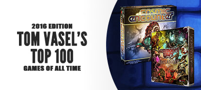 Tom Vasel's Top 100 Games of All Time