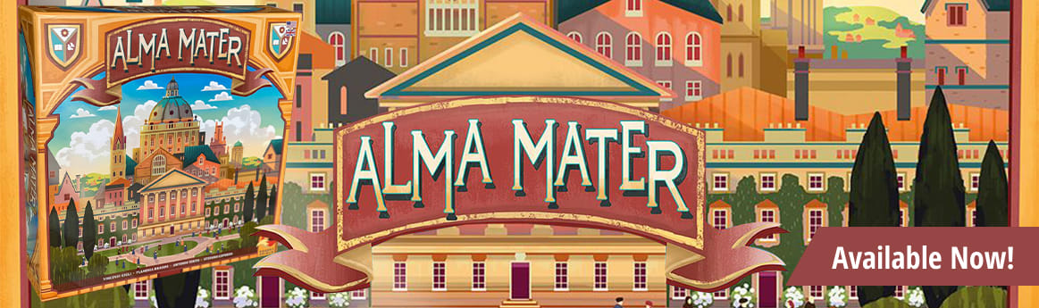 Alma Mater available now!