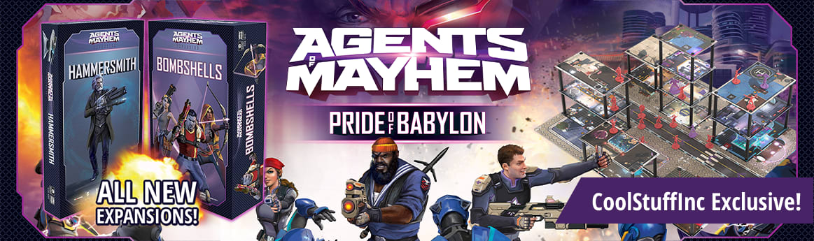 Agents of Mayhem Hammersmith and Bombshells expansions available now