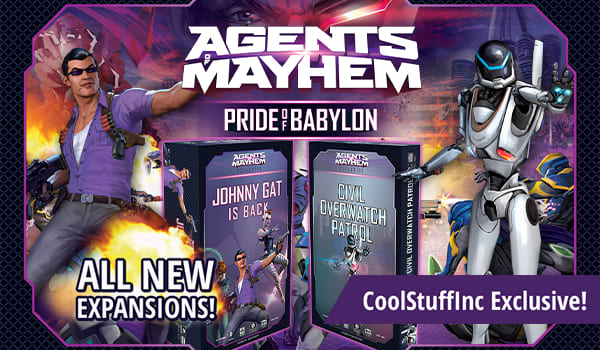 Agents of Mayhem Exclusive Expansions now available!