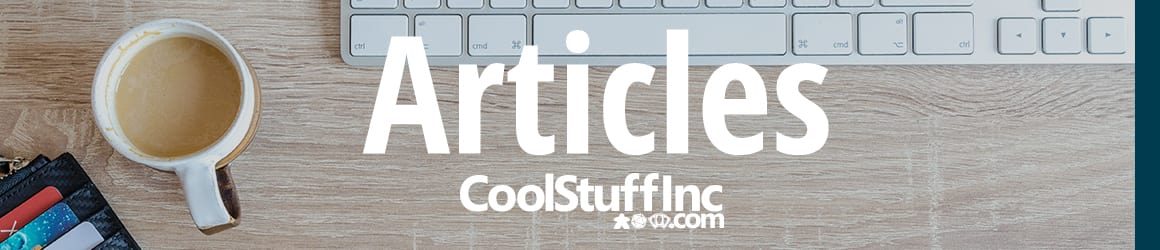 CoolStuffInc.com Articles