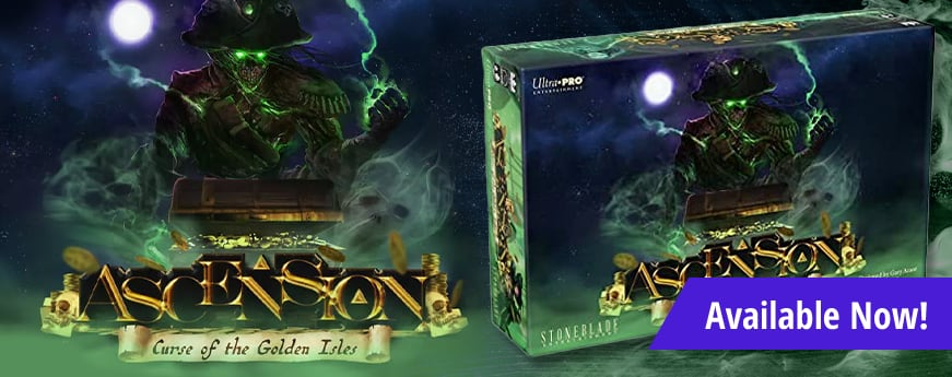 Ascension Curse of the Golden Isles available now!
