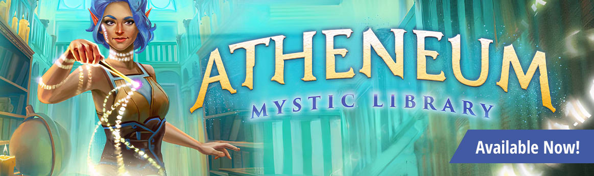 Atheneum: Mystic Library available now!