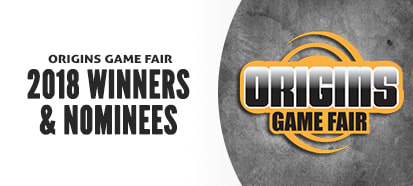 Origins 2018 Winners and Nominees
